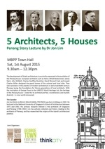 5 Architects, 5 Houses_small