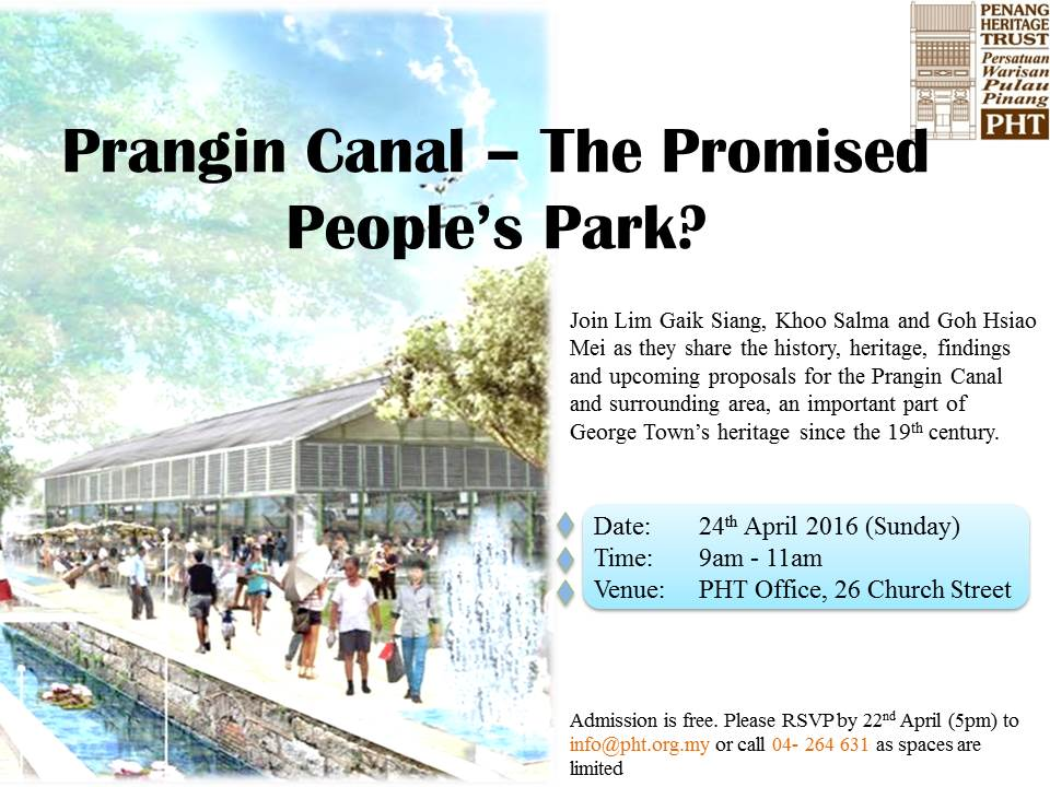 Prangin Canal Talk