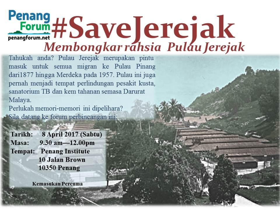 Save Jerejak Posters latest 1 BM